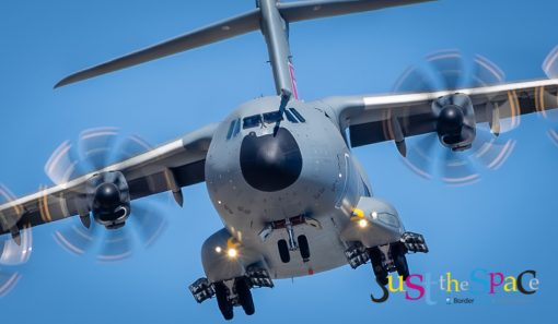 A400m Transport Plane by Carpenter Photography