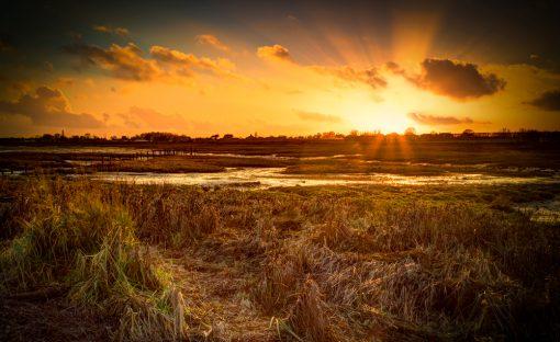 Bosham Sunset by Carpenter Photography