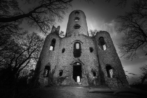 Racton Ruins by Carpenter Photography